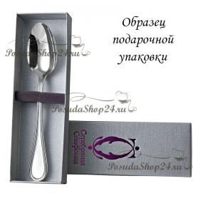 """Серебряная чайная ложка""""РОКОКО"""". арт. 925-10-AE06509"""