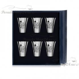 Серебряная стопка «ГЕРБ». арт. 925-5-285СТ00001