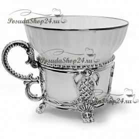 Серебряный чайныйнабор «МЕЦЕНАТ». арт. 925-5-570НБ03806