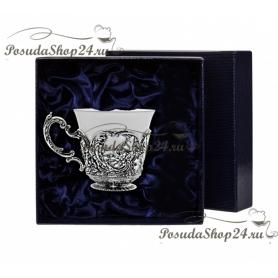 """Серебряная чашка """" Королевская охота"""" арт. 925-5-866ЧШ03006"""