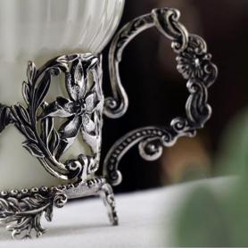 Серебряная сахарница «СИМФОНИЯ». арт.925-5-630СХ16006
