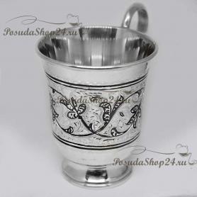 Серебряная кружка «МАМА». арт. 875-2-0622