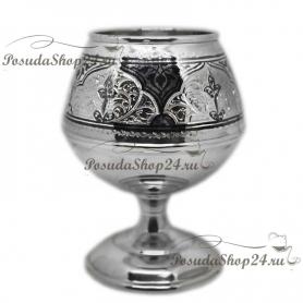 Серебряный бокал дляконьяка. Серебро 875. арт. 875-2-0224
