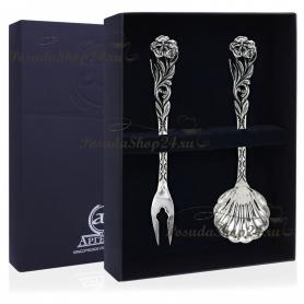 Чайный набор из серебра «СИМФОНИЯ». арт. 925-5-180ВЛ17001