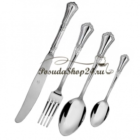 Набор из 6 серебряных кофейных ложек «ФАВОРИТ» арт. 925-5-521НБ07801