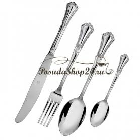 """Десертный набор из серебра """"ФАВОРИТ"""" из 24 предметов. арт. 925-5-158НБ02801"""