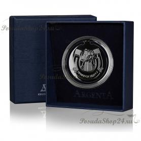 Серебряная закладка для книг «На УДАЧУ». арт. 925-5-295ЗК22001(удача)