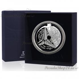 Серебряная закладка для книг «Мерседес». арт. 925-5-295ЗК22001(Мерседес)