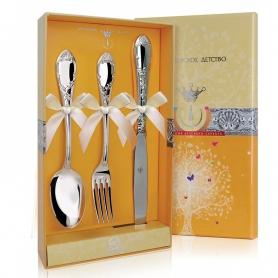 Набор десертного серебра«ПРЕСТИЖ». арт.925-5-493НБ02801