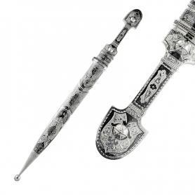 Серебряный кинжал «АТАМАН» арт. 875-1-712045