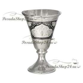Серебряная стопка «ЧАРОЧКА». арт.875-2-0117