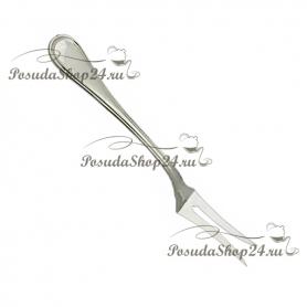 Серебрная вилка  для сервировки «Искушение». арт. 925-2-8073