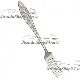 """Десертный набор из серебра """"МОРОЗКО"""" из 24 предметов. арт. 925-5-040ЛЖ02001"""