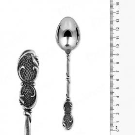 Серебряная чайная ложка «БЕСКОНЕЧНОСТЬ». арт. 925-2-2872