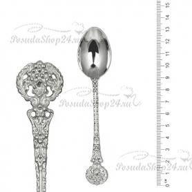 Серебряная кофейная ложка «ВЕЕР».арт. 925-2-2813(1)