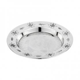 Пепельница из серебра 875 пробы. арт. 875-4701