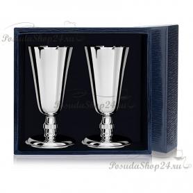Набор из 3 серебряных рюмок «ЧЕТВЕРОЧКА». арт. 925-5-029РМ00801