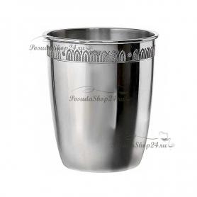 Серебряный стакан «ИМПЕРАТОР». арт. 925-5-603СН05001