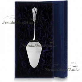 """Серебряная лопатка для торта """"ФАВОРИТ"""". арт. 925-5-049ЛП11001"""