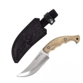 Разделочный серебряный авторский нож «ВОСТОЧНЫЙ»