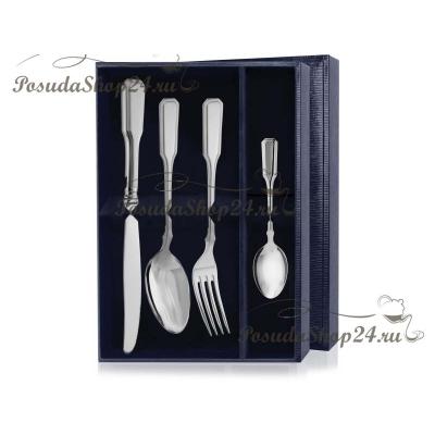 Столовый набор из серебра «РУССКИЙ-эгоист».арт.925-5-322НБ01801