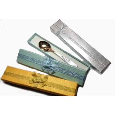 Серебряная чайная ложка «ТРОЙНОЙ УЗОР». арт. 925-2-2823