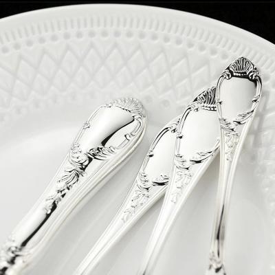 Набор десертных серебряных ложек «ПРЕСТИЖ» арт. 925-5-380ЛЖ02801(6)